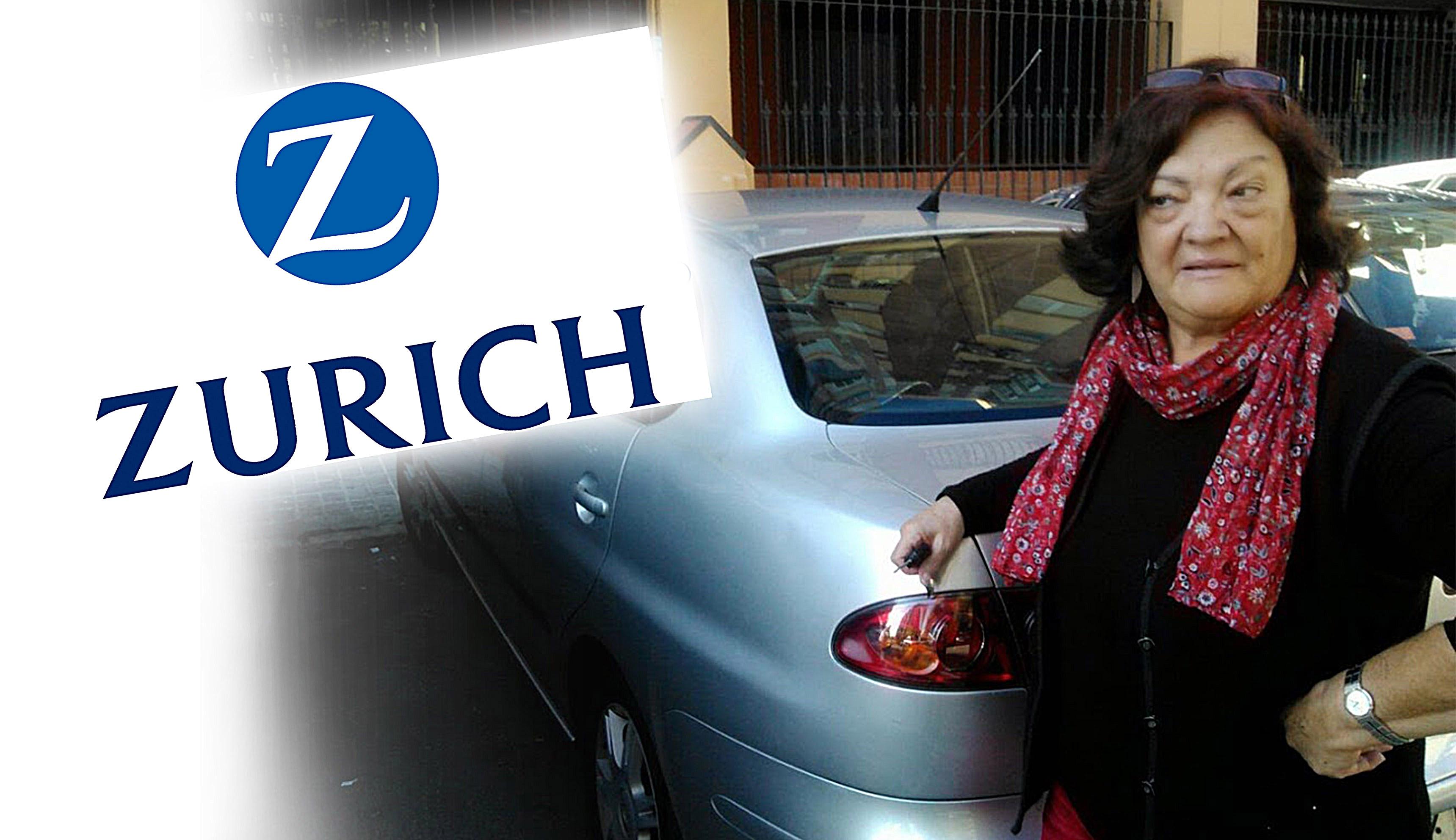 Una socia de FACUA logra que Zurich pague la reparación de su coche tras haberlo declarado siniestro total
