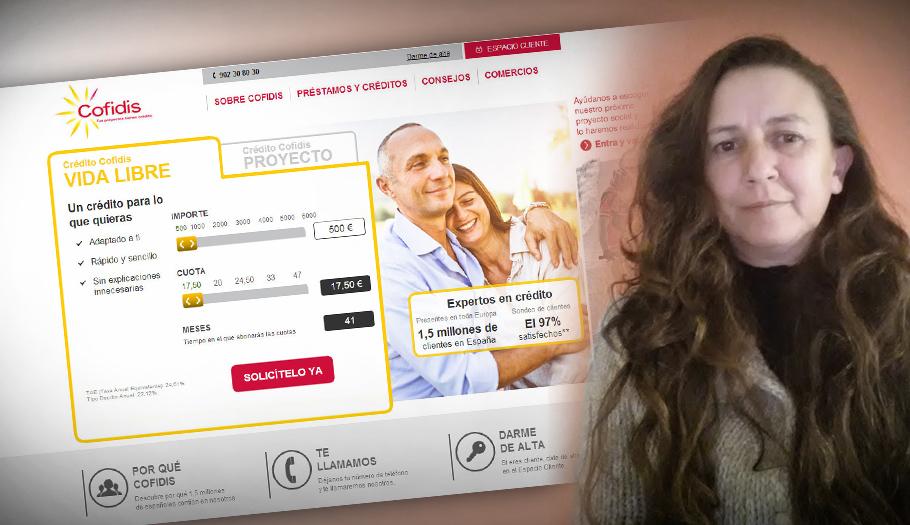 Cofidis devuelve 2.945 euros a una socia de FACUA a la que no informó de las condiciones de un préstamo