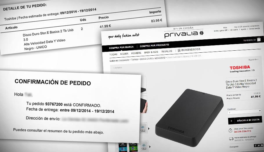FACUA denuncia a Privalia tras recibir más de sesenta quejas por incumplir una oferta