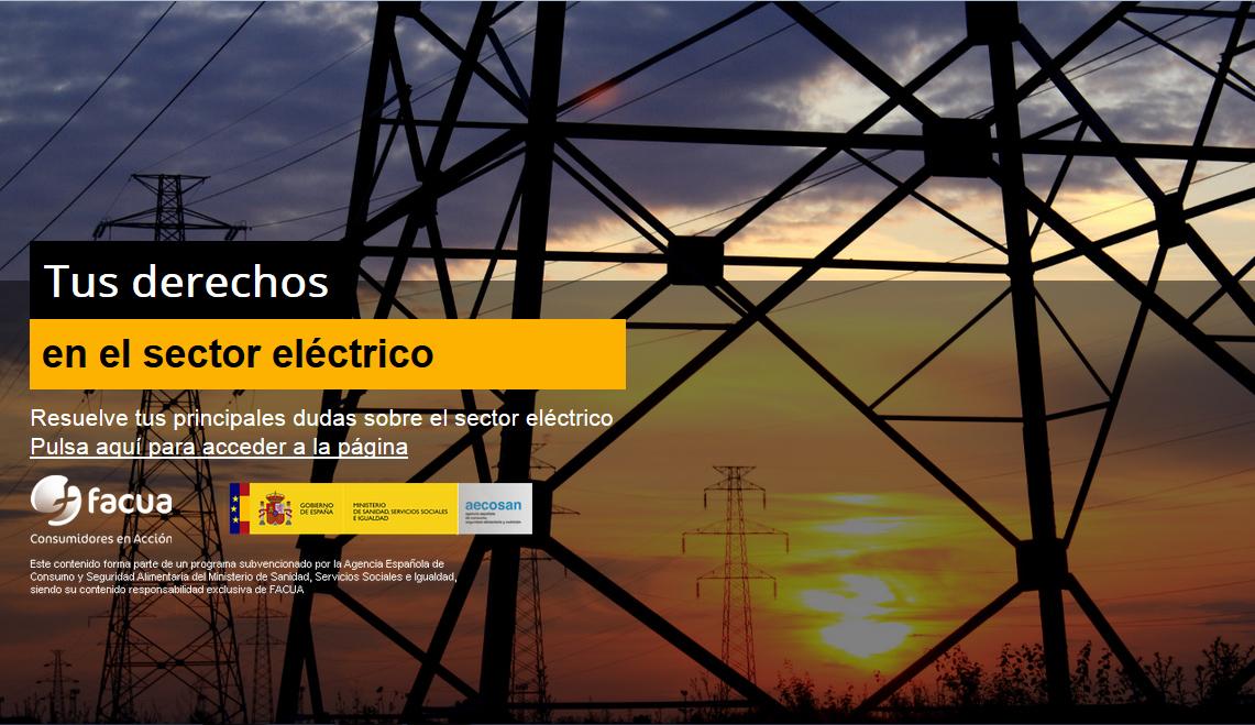 FACUA desarrolla una campaña para ayudar a los consumidores a resolver dudas sobre el sector eléctrico