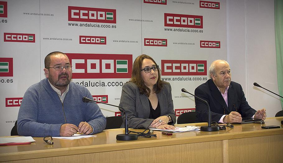 FACUA Andalucía presenta un manifiesto junto a CCOO-A y UGT-A contra el auge de gasolineras desatendidas