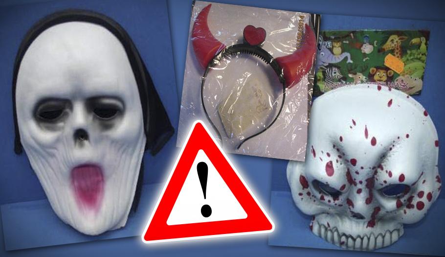 FACUA alerta de la orden de retirada de 29 máscaras, pelucas y disfraces peligrosos en el último año