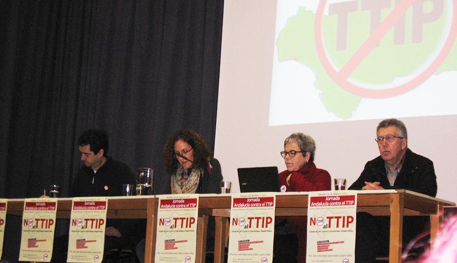 Más de 150 personas participan en las jornadas de información y debate de la Red Andalucía No al TTIP