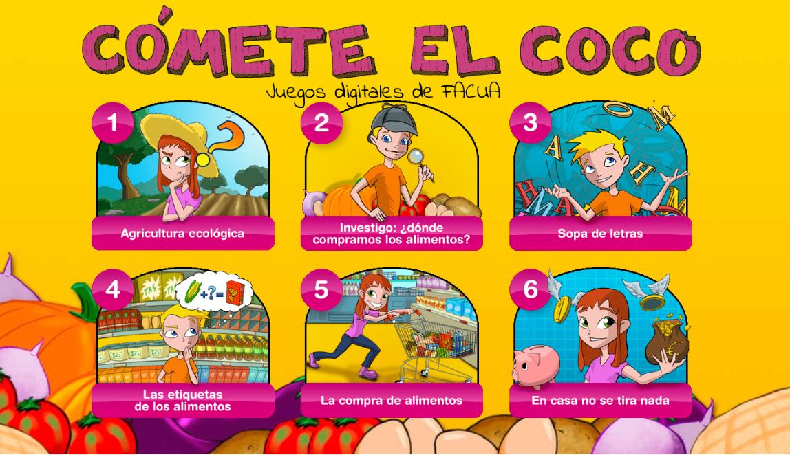 FACUA Andalucía desarrolla una aplicación web para promocionar la alimentación responsable entre menores