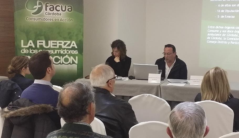 FACUA Córdoba celebra su Asamblea General de Socios
