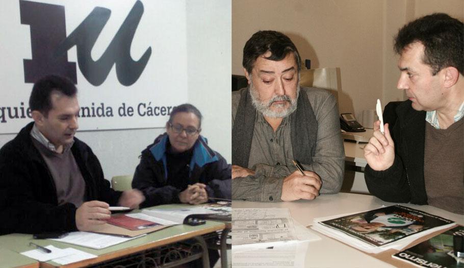 La delegación territorial de FACUA en Extremadura se reúne con IU de Cáceres y Badajoz