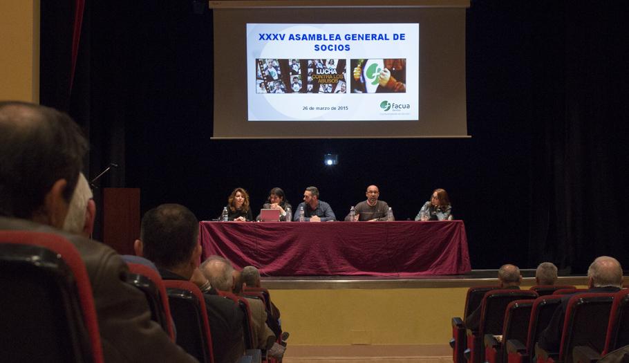 FACUA Sevilla celebra su 35ª Asamblea General de Socios