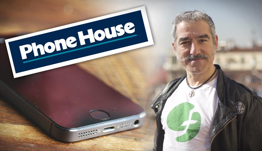 Phone House, obligada a reponer un móvil a Sergio Pazos tras negarse por no denunciar el robo en 48 horas