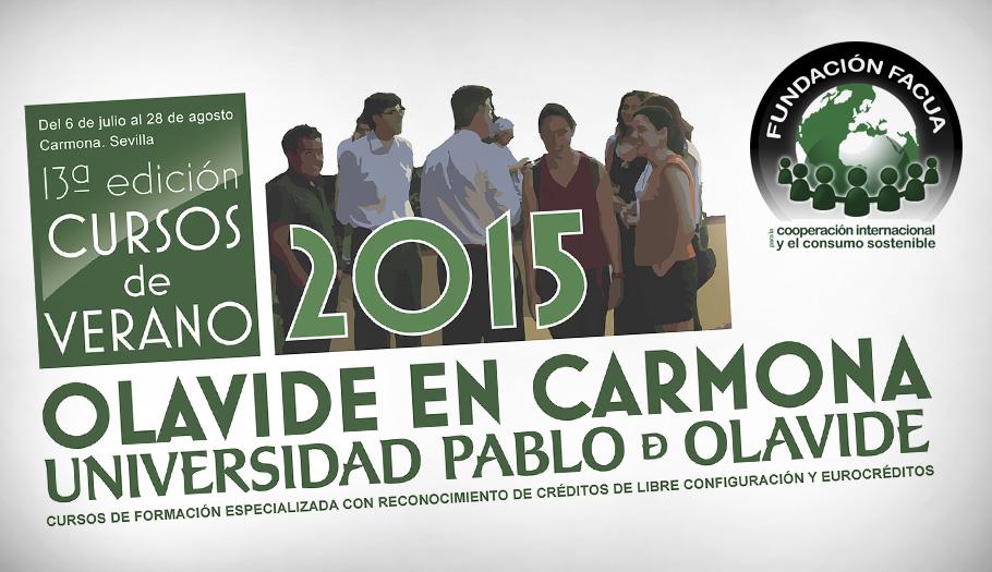 Abierto el plazo para la inscripción al curso de verano de la UPO en Carmona de la Fundación FACUA