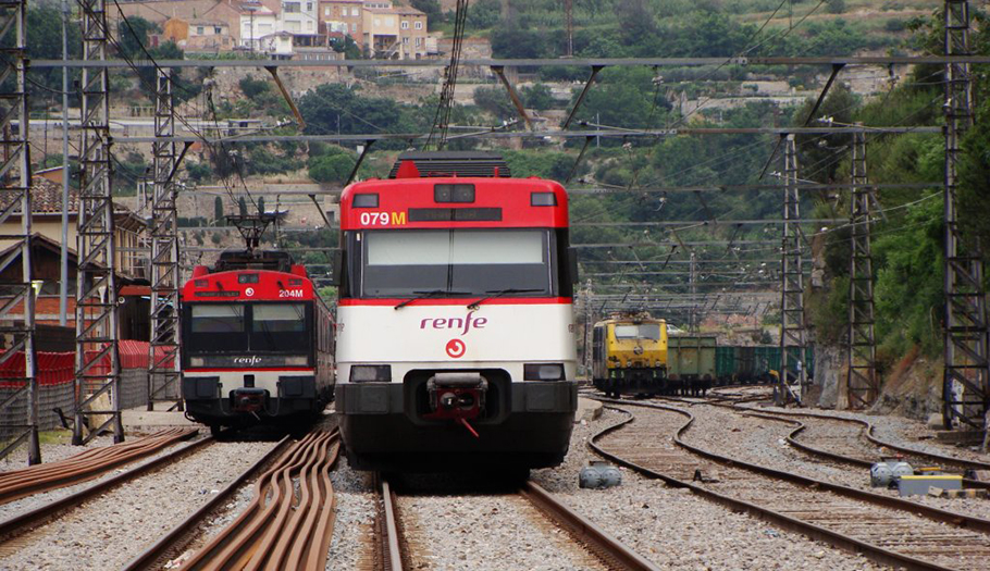 FACUA Catalunya recomienda a los usuarios afectados la avería en Cercanías que reclamen una compensación