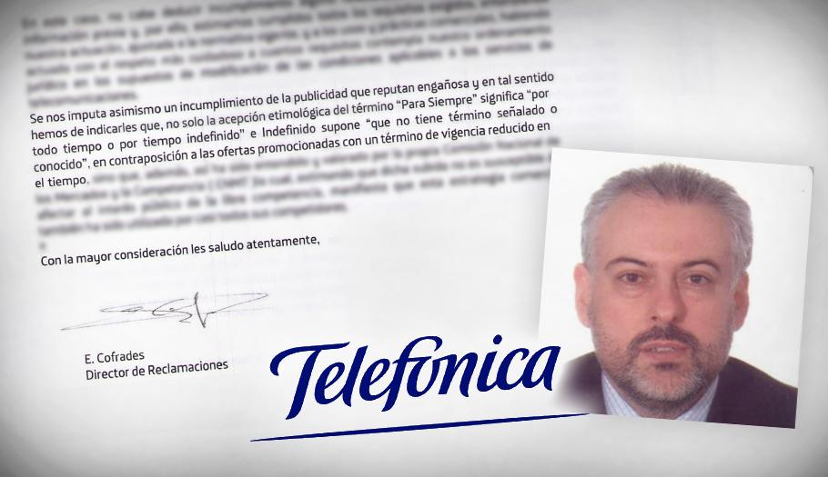 """No es broma: Movistar justifica la subida de Fusión por """"la acepción etimológica"""" de """"para siempre"""""""