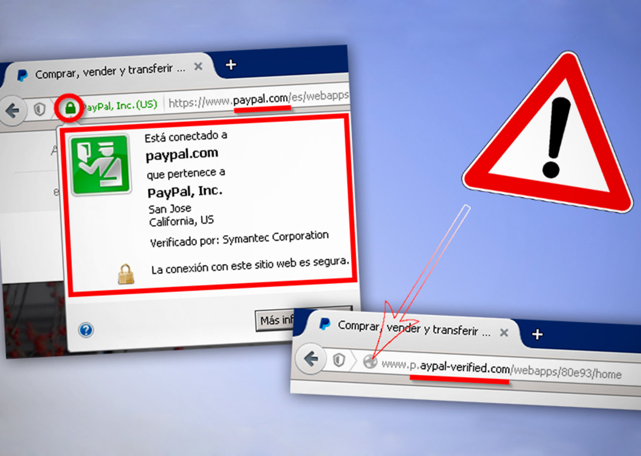 Una falsa web de PayPal intenta robar los nombres de usuario y contraseñas
