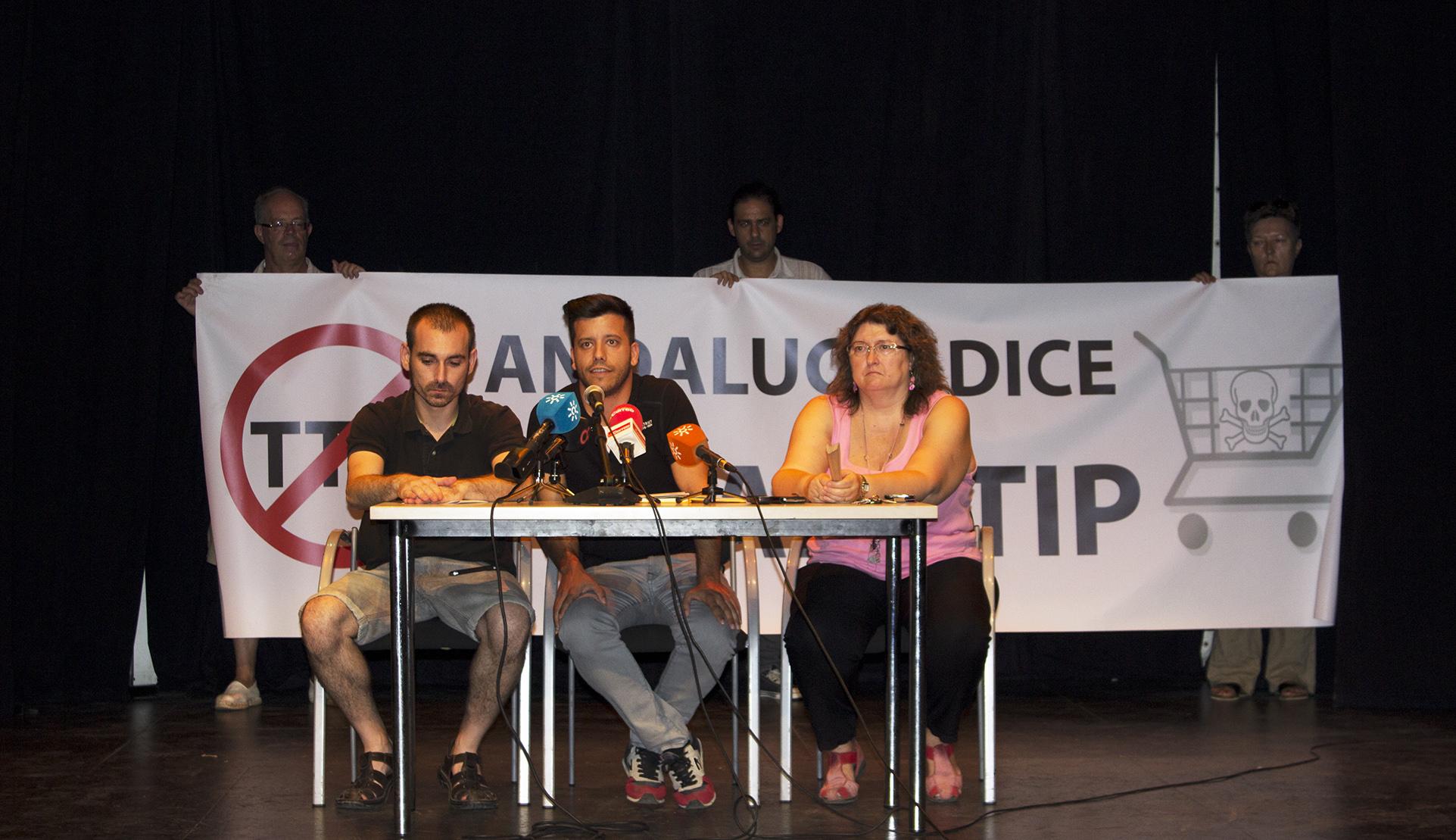 La Red Andalucía No al TTIP invita a los ayuntamientos andaluces a declararse Municipios contra el TTIP