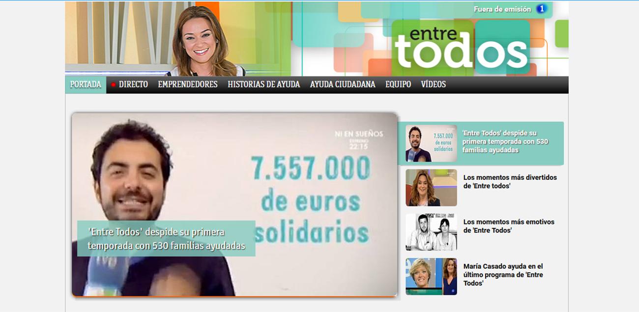Condena al programa de TVE 'Entre todos' por vulnerar el derecho a la intimidad de un menor discapacitado