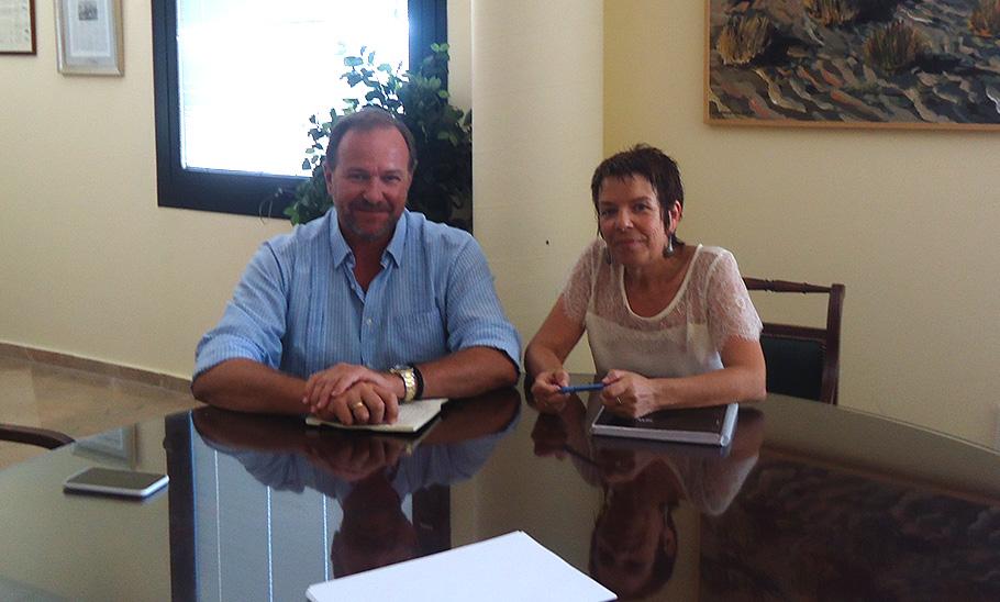 FACUA Huelva se reúne con el nuevo presidente de la Federación Onubense de Empresarios