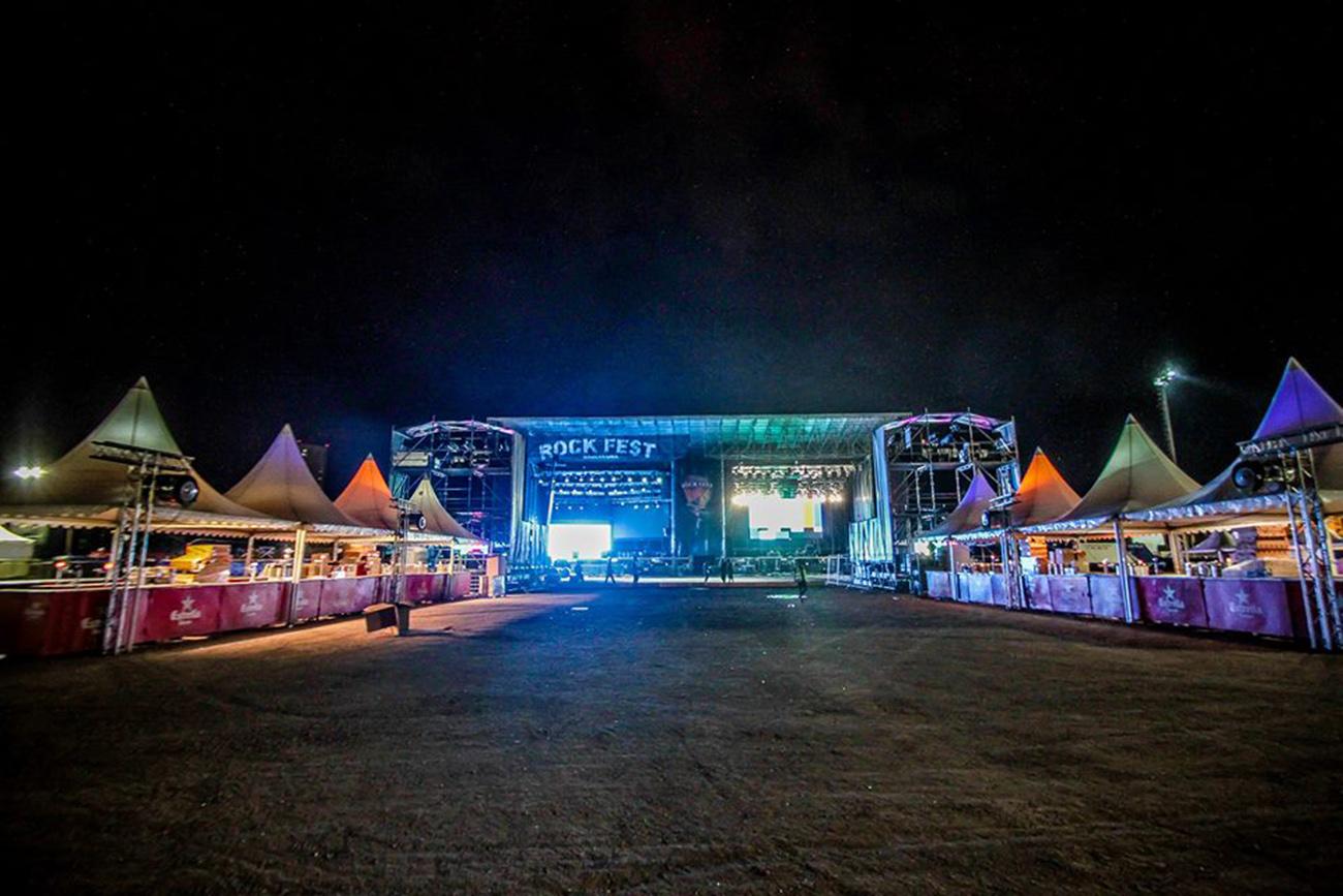 FACUA denuncia al festival RockFest de Barcelona por no permitir comida ni bebida del exterior