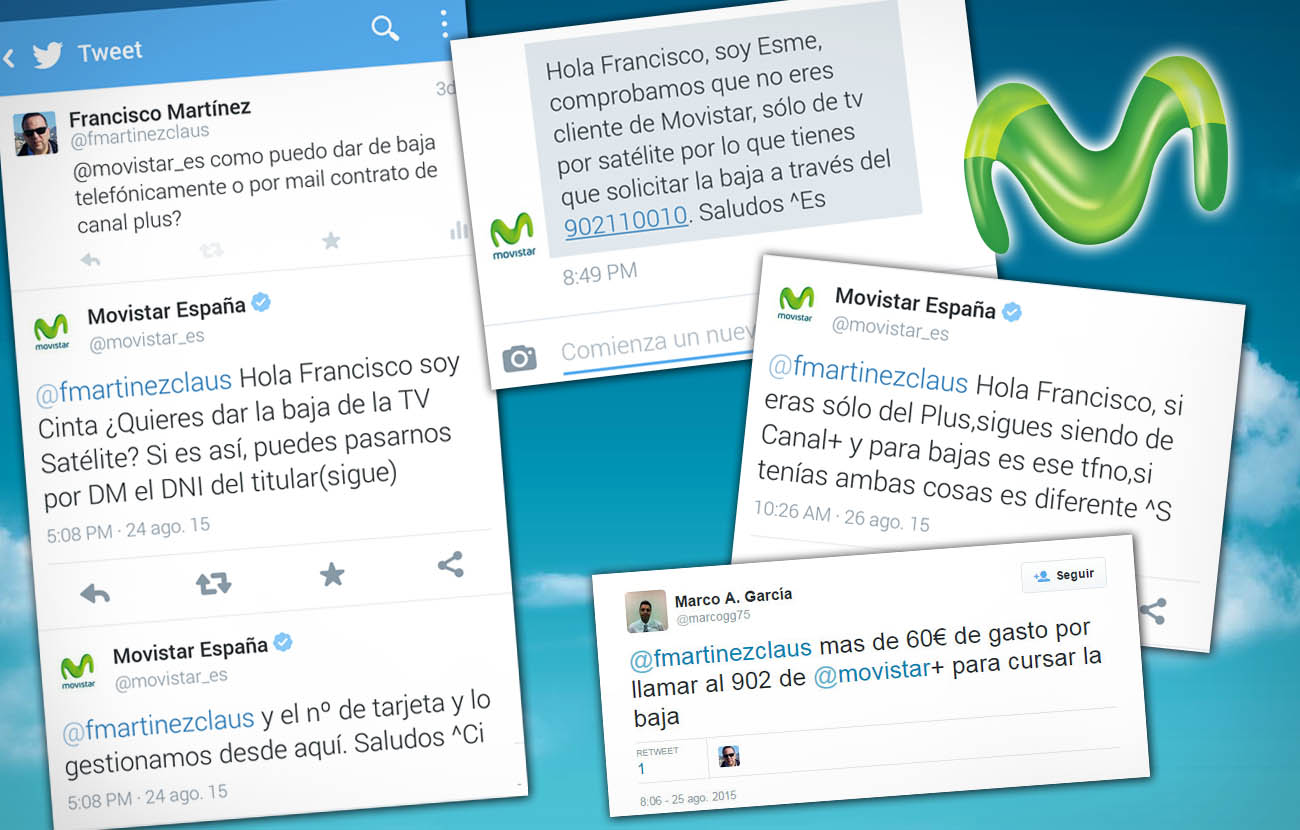 FACUA advierte de un nuevo fraude de Movistar: rechaza las solicitudes de baja de Canal Plus
