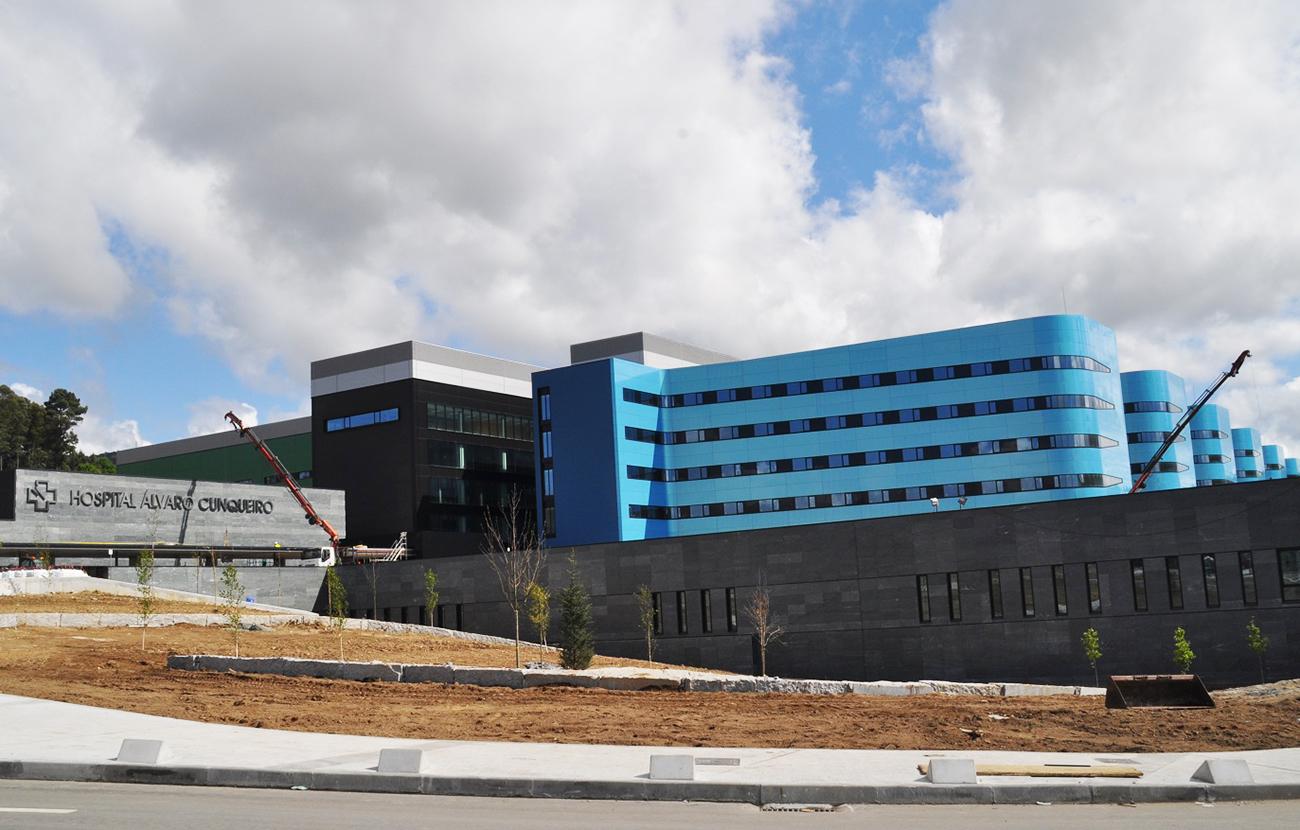 Fallece una paciente con 'aspergillus' en el nuevo hospital de Vigo