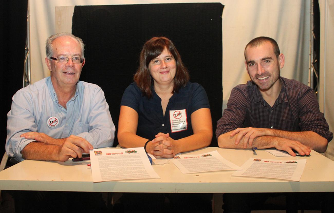 La Red Andalucía No TTIP convoca para el 17 de octubre movilizaciones contra el tratado y la pobreza