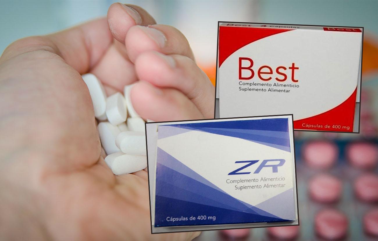 Retirada de las cápsulas Best y ZR por contener sildenafilo, no incluido ni declarado en sus etiquetados