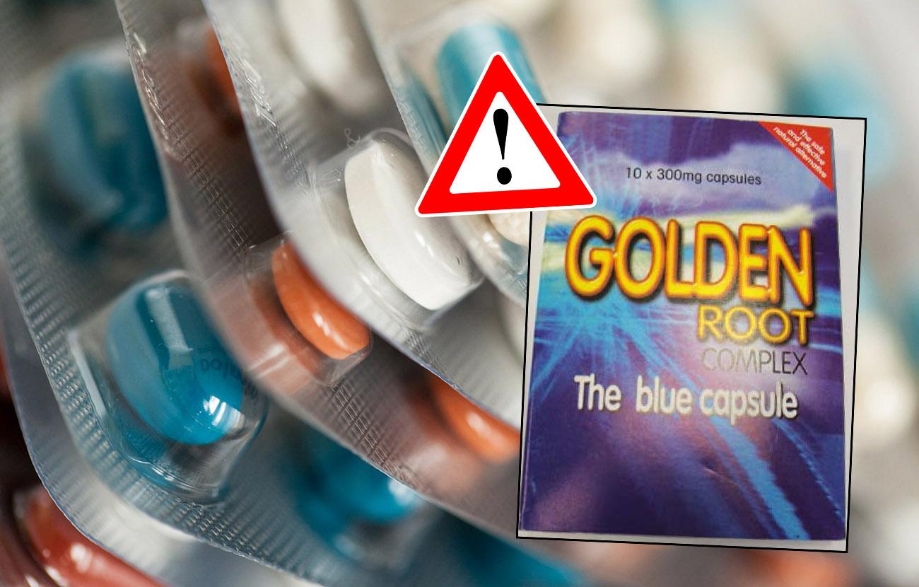 Retirada de las c�psulas Golden Root Complex comercializadas como estimulante sexual