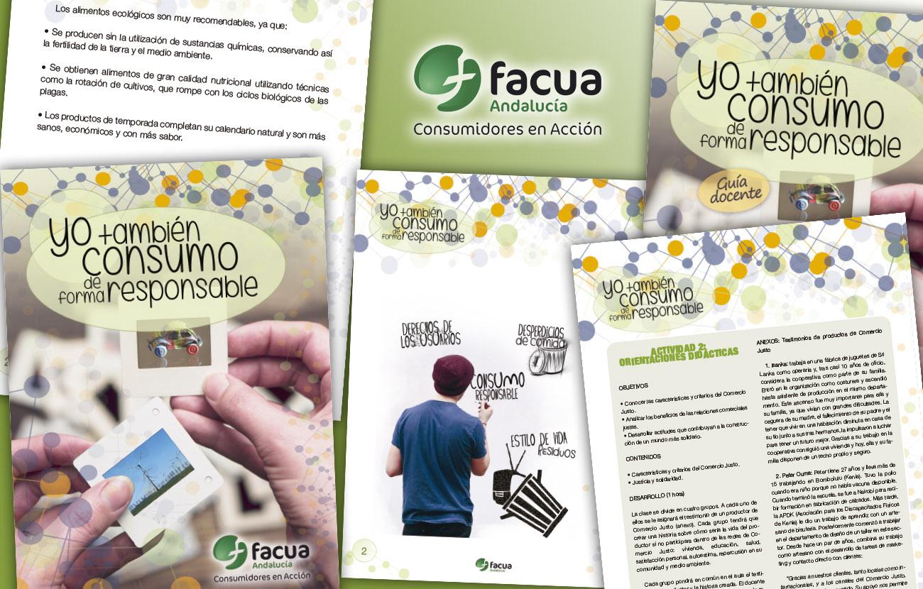 FACUA Andalucía elabora un programa educativo para concienciar a los jóvenes sobre consumo responsable