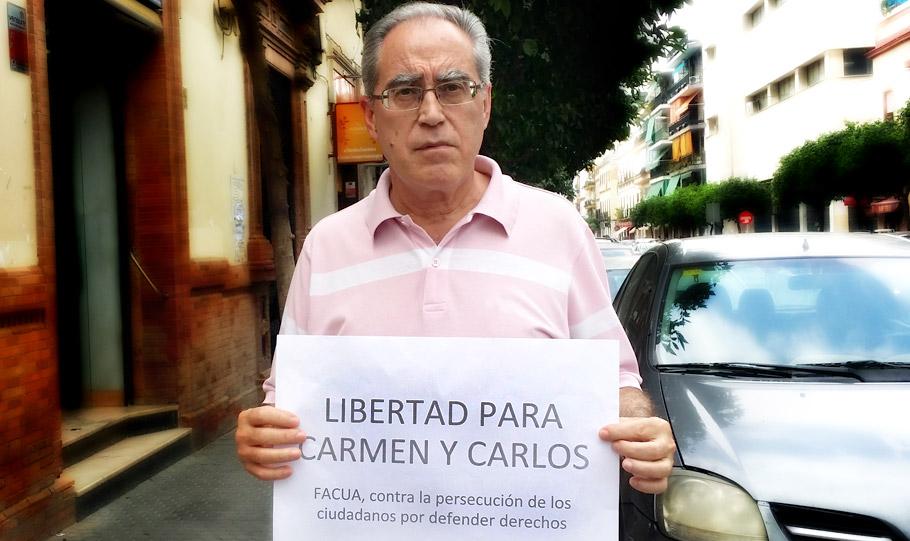 Paco Sánchez Legrán, presidente de FACUA