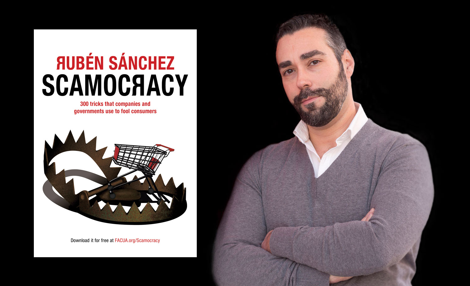 Scamocracy (Timocracia, in Spanish), Rubén Sánchez's new book, will be published in October, 21