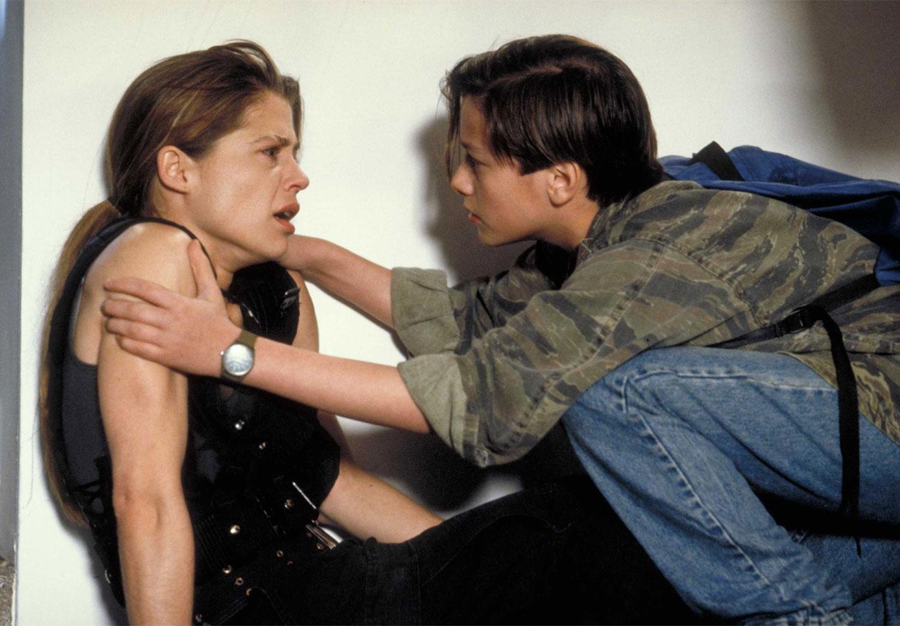 Linda Hamilton, la auténtica, la genuina, la inigualable Sarah Connor de 'Terminator' y 'Terminator 2'. | Imagen: Universal.