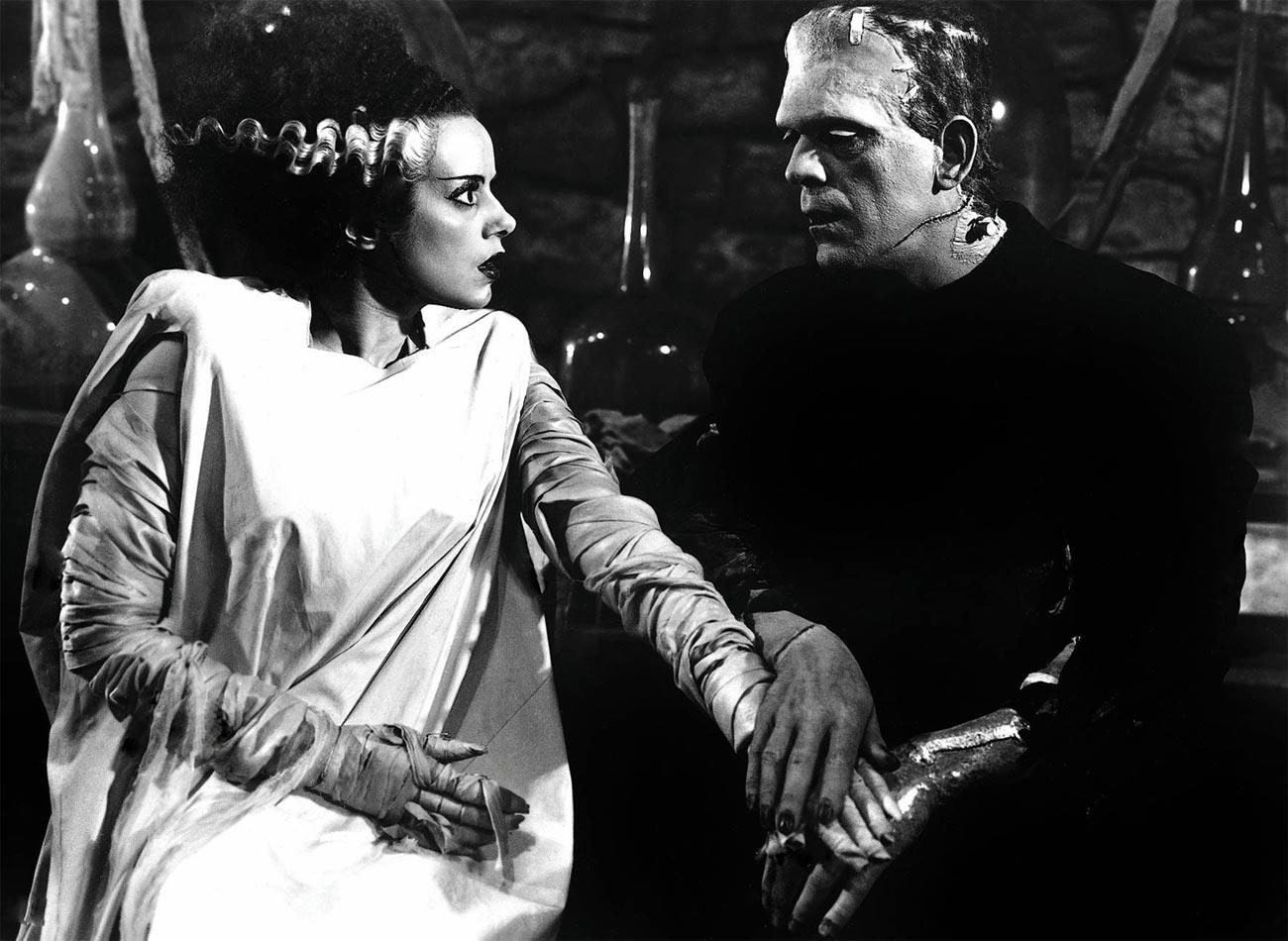 Imagen de La novia de Frankenstein (Universal).