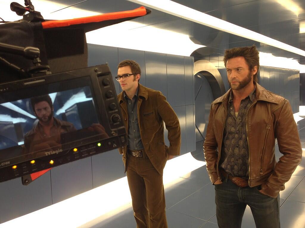 Imagen del rodaje de X-Men: Días del futuro pasado (20th Century Fox y Marvel Entertainment).