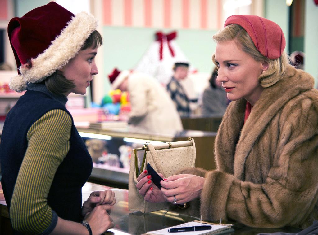 Cate Blanchett y Rooney Mara en un fotograma de Carol. | Imagen: Film4, Killer Films y Number 9 Films.