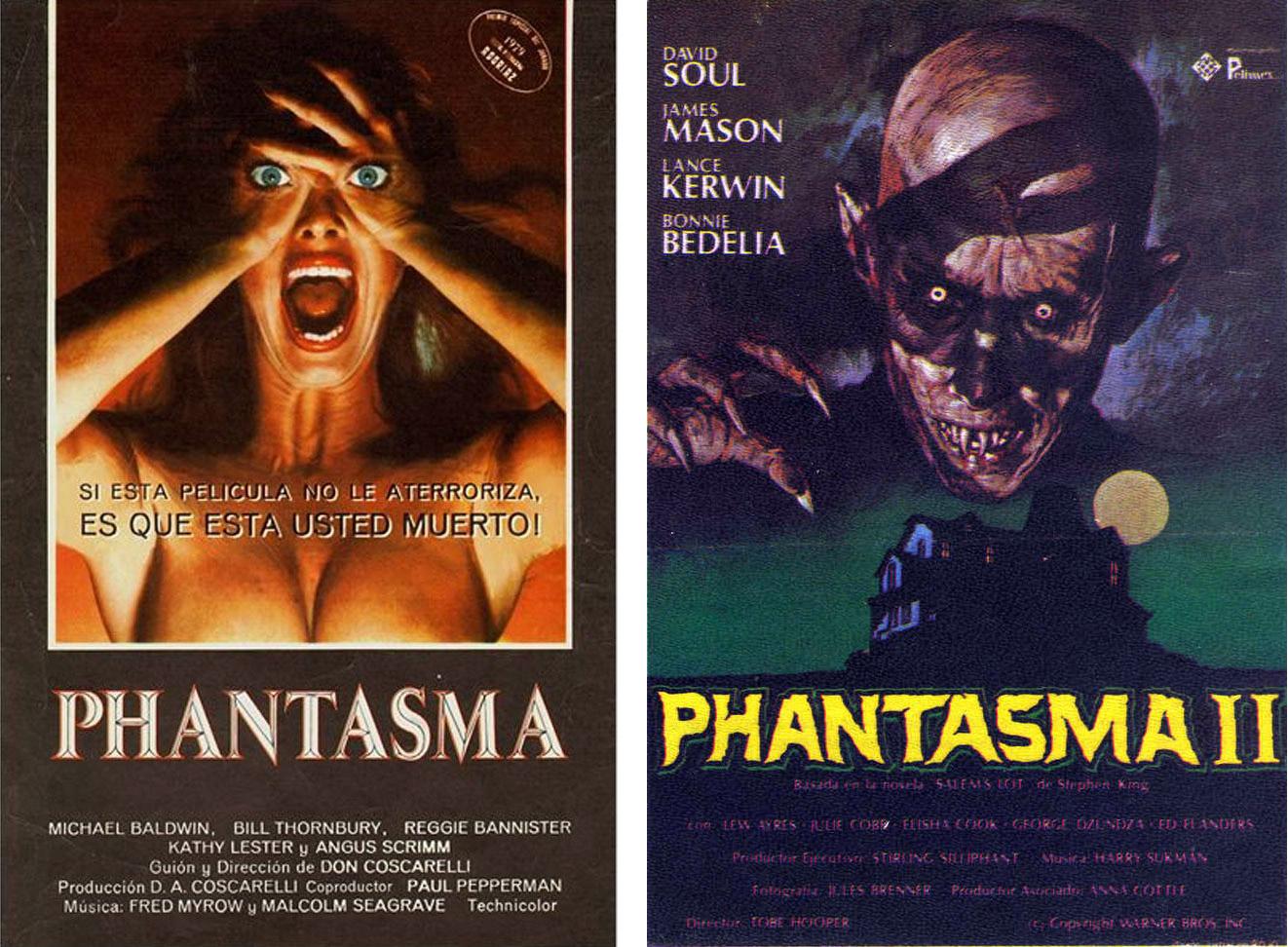 En España se estrenó una falsa secuela de 'Phantasma', la película de Tobe Hooper 'Salem´s lot: The movie'. | Imágenes: New Breed Productions y Warner.